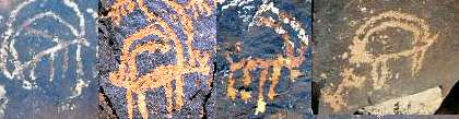 orion as ibex negev desert rock art