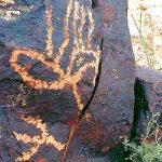Rock Art mythology research news, fish underworld journey rock art