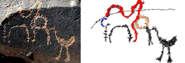 Rock Art research news. Bird afterlife journey rock art